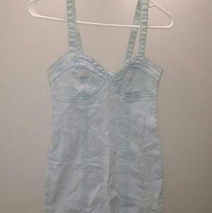 H&M denim dress small